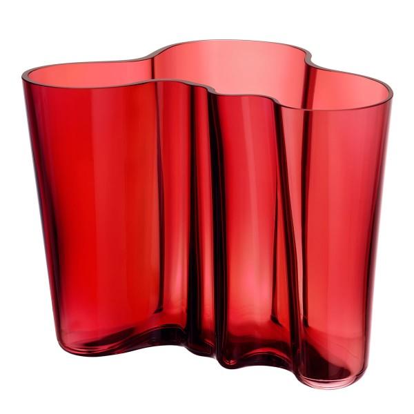 iittala Aalto Vase 160 mm cranberry