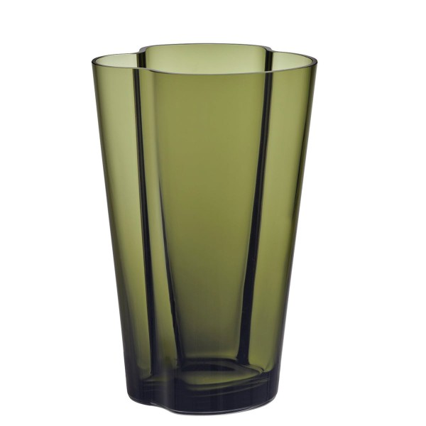 iittala Aalto Vase 22 cm moosgrün