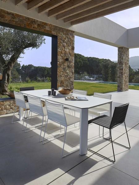 Resol Tisch Espiga weiß 200 x 100 cm