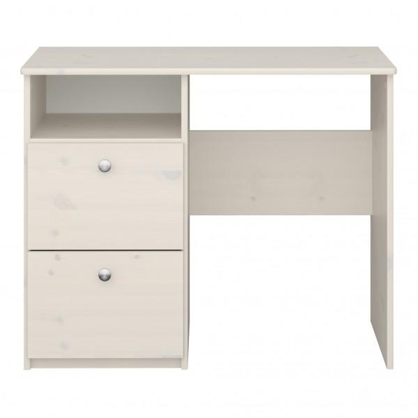 Steens Schreibtisch Memphis 077 White Wash