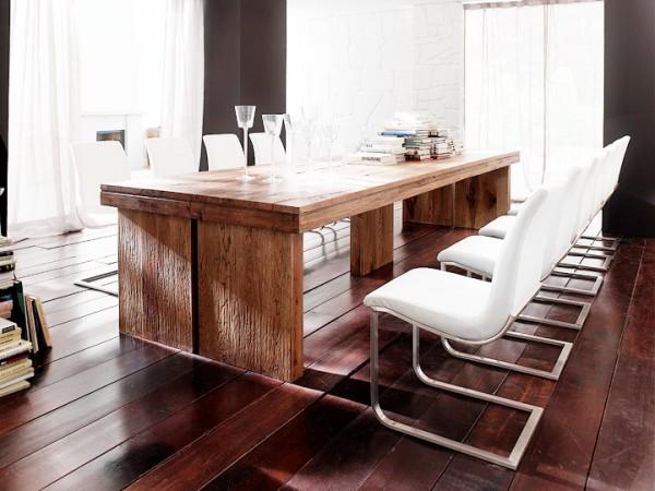 MCA furniture Dublin Esstisch Eiche massiv 260x100