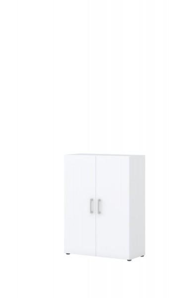 Aktenschrank direct Weiß Front Weiß 2 Ordnerhöhen 2 Türen