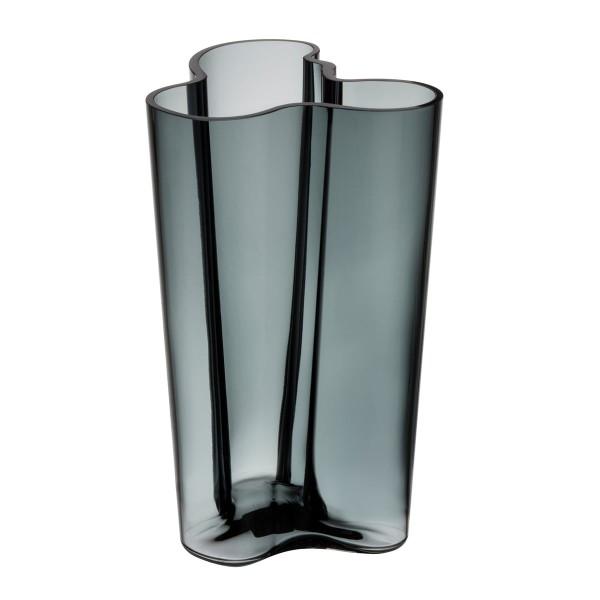 iittala Aalto Vase 25 cm dunkelgrau