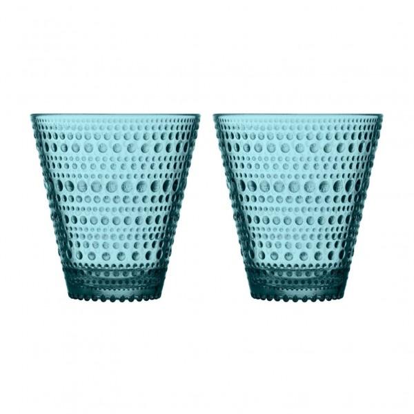 iittala Trinkglas Kastehelmi 0,3 l See blau (2er-Set)