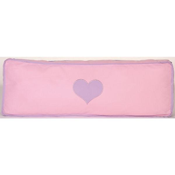 Relita Seitenkissen Herz lila/rosa