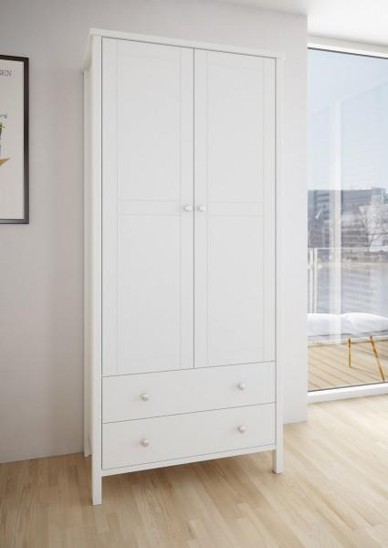 Steens Kleiderschrank Tromsö 116 weiß