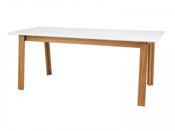 Esstisch Smykk Eiche & Weiß 180x95cm Livingruhm