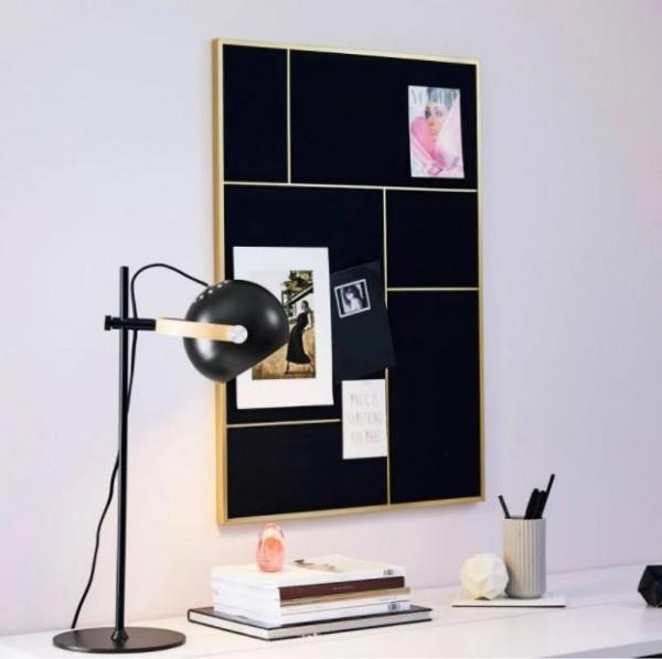 Halo Design Schreibtischlampe D.C. schwarz