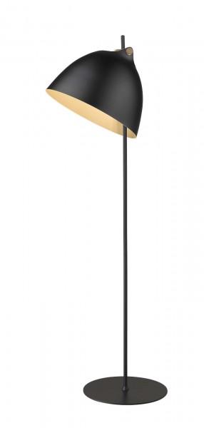 Halo Design Arhus Schwarz Wood Ø40 Stehlampe