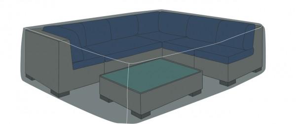 """deVries Schutzhülle Premium Loungegruppe quadrat. Gr. """"L"""""""