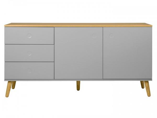 Sideboard Joan Eiche & Grau 162cm Livingruhm