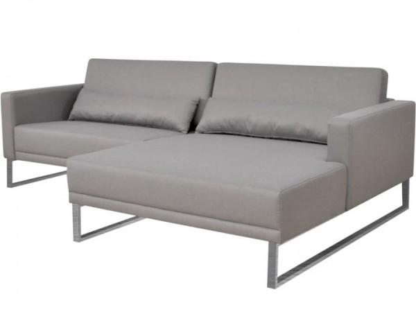 Lounge Bari für den Garten Set A 8-teilig Silvertex Livingruhm