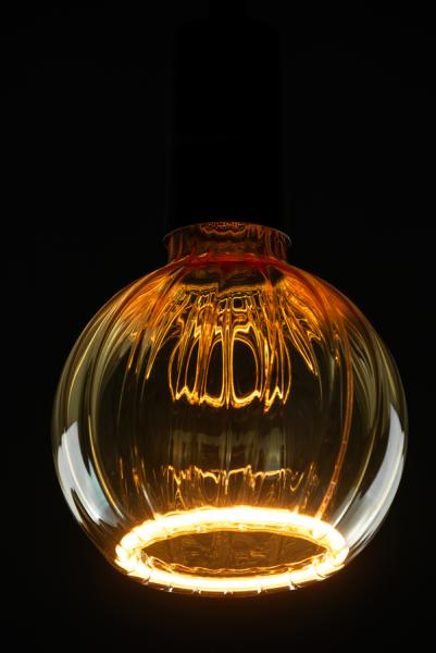 Heitronic LED Leuchtmittel Floating Globe R125 straight gold E27