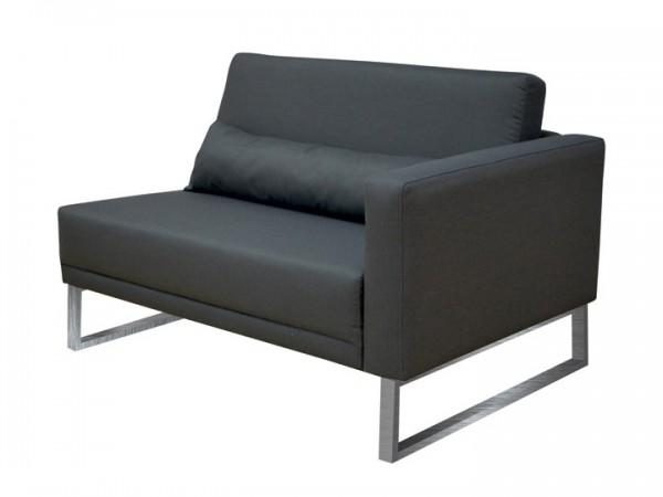 Loungegruppe-Modul Bari Abschluss rechts 1.5-Sitzer Silvertex Livingruhm
