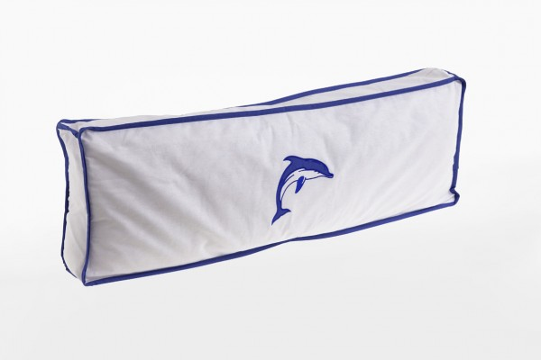 Relita Seitenkissen weiß-Delphin