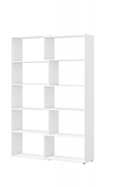 Ausgleichsregal direct Weiß Front Weiß 100-150 cm breit