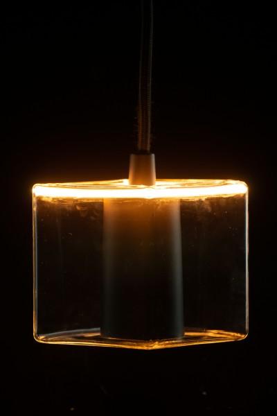 Heitronic LED Leuchtmittel Floating Cube R86 klar E27