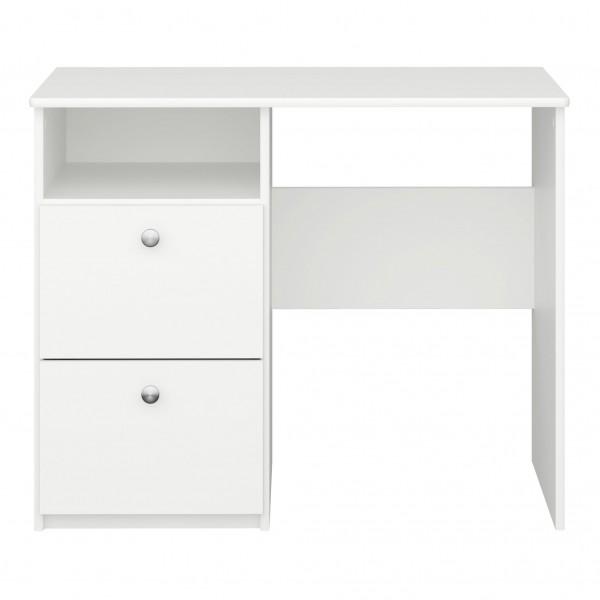 Steens Schreibtisch Memphis 077 weiß