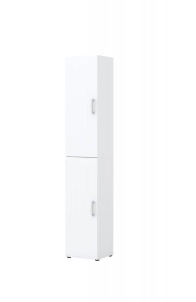 Aktenschrank direct Weiß Front Weiß 6 Ordnerhöhen 2 türig