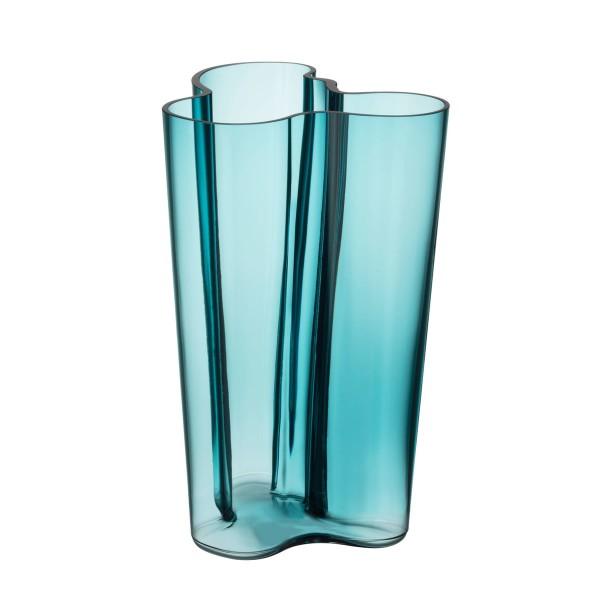 iittala Aalto Vase 25 cm seeblau