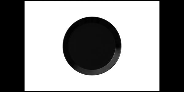 iittala Teller Teema schwarz 21 cm
