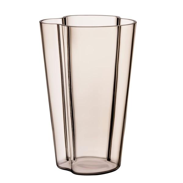 iittala Aalto Vase 22 cm Leinen