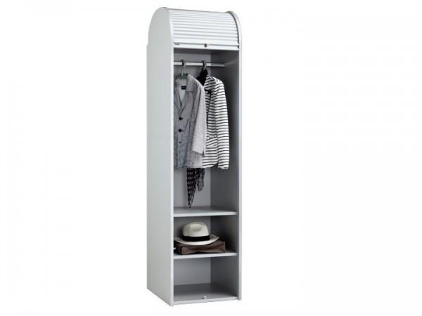 MS-Schuon Dancer Kleiderschrank mit Rollladen Silber 50cm Klenk Collection