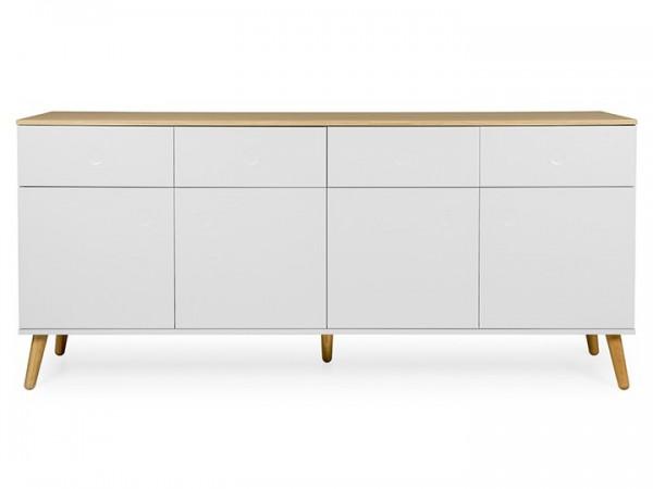 Sideboard Joan Eiche & Weiß 192cm Livingruhm