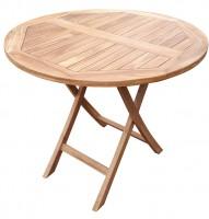 deVries Woodie Tisch ø 90 cm