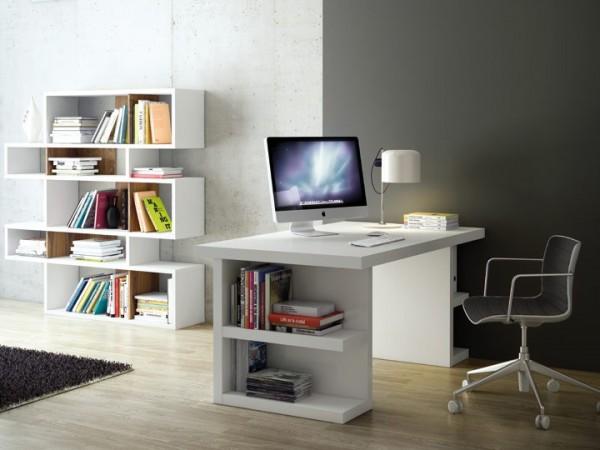 Temahome Multi04 Schreibtisch Weiß 160x90cm