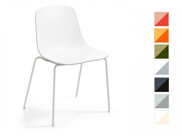 Infiniti Stuhl Pure Loop Binuance Gestell Weiß
