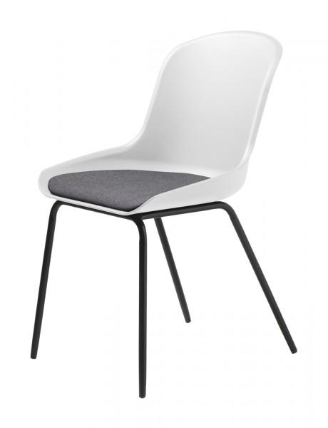 Stuhl Topley von Livingruhm in weiß