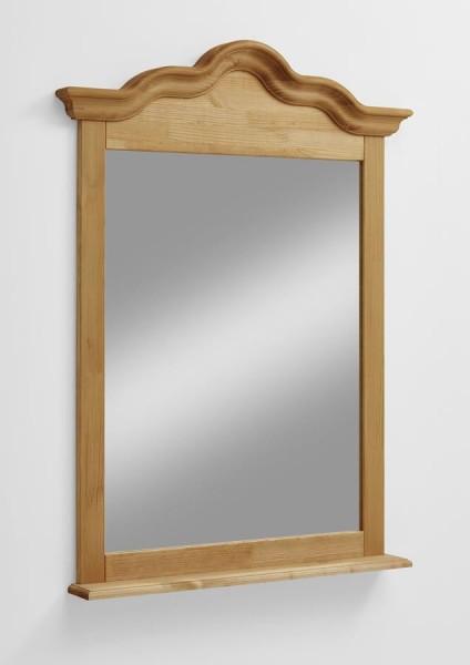 Spiegel mit Ablage Inga Kiefer massiv Landhausstil