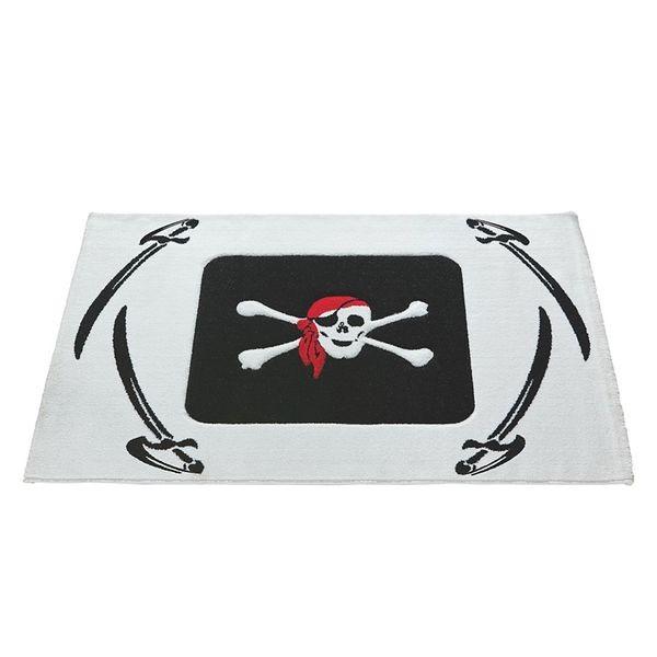 Relita Teppich Pirat mit schwarzen Säbeln, 170 x 120cm
