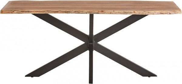 Massivholztisch aus Akazie von Livingruhm 210x100 cm