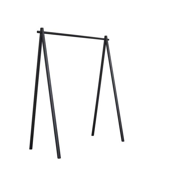 Hongi Standgarderobe Schwarz 150 cm breit
