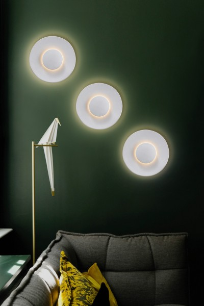 Heitronic LED Wandleuchte PIASTRA weiß
