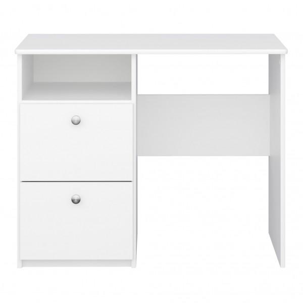 Steens Schreibtisch Memphis 077 Rein weiß