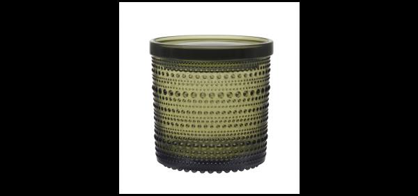 iittala Vorratsglas Kastehelmi moos grün 11 cm