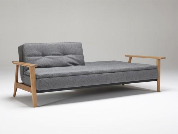 Innovation Dublexo Frej Schlafsofa 3-Sitzer mit Armlehnen