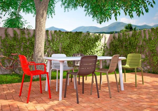 Resol Design Stuhl Gina Gartenstuhl Barcelona Dd