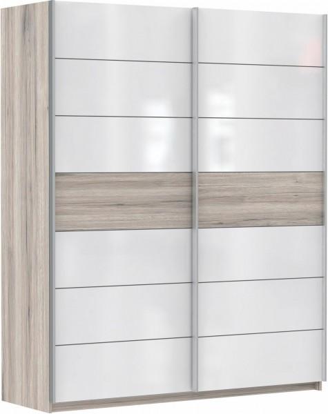 Forte Schwebetürenschrank Rondino 170 x 210 cm