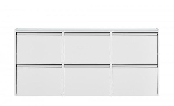Steens Schuhschrank Skyline 194 in weiß