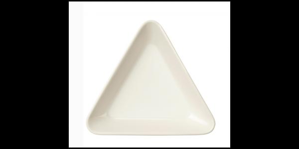 iittala Schale Dreieck Teema weiss 12 cm