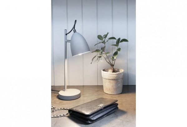 Halo Design Schreibtischlampe Yep! grau