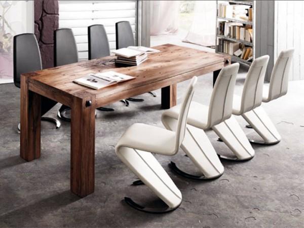 MCA furniture Leeds Esstisch Eiche massiv 220x100 cm