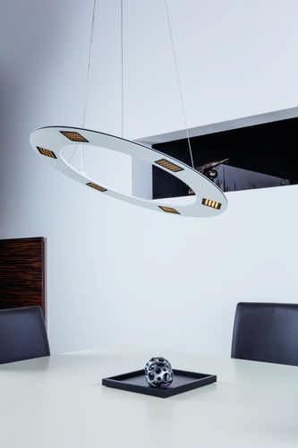Heitronic LED Pendelleuchte STYLE weiß