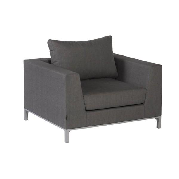 Exotan Loungesessel Sizilien stone grey