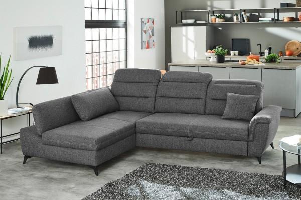 Jockenhöfer Sofa Positano grau
