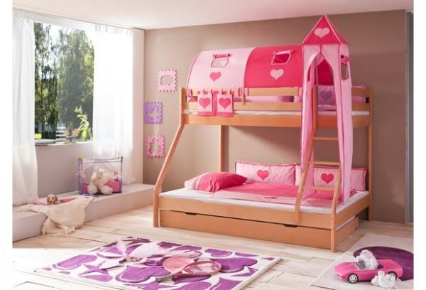 Relita Turm-Set groß pink-Herz
